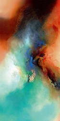 The Light Fantastic I by Simon Kenny - Glazed Box Canvas sized 16x32 inches. Available from Whitewall Galleries
